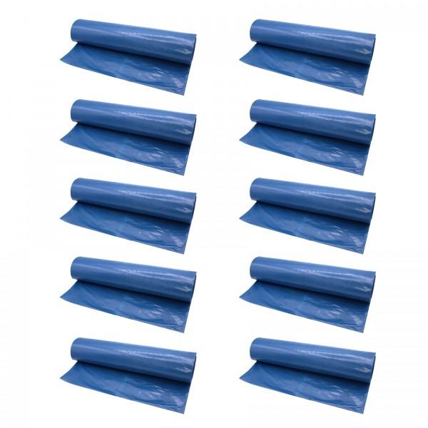 VARIOSAN Müllsäcke 12838, 120 L, 250 Stück, 30 µ, Typ 60, blau
