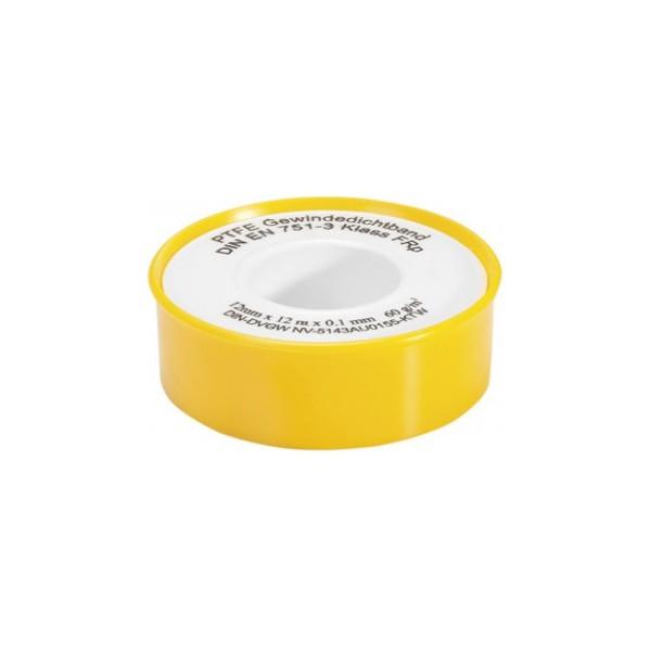 VARIOSAN PTFE-Gewindedichtband 11862, 1 Rolle, DIN EN 751-3, DN10, FRp (Feingewinde)