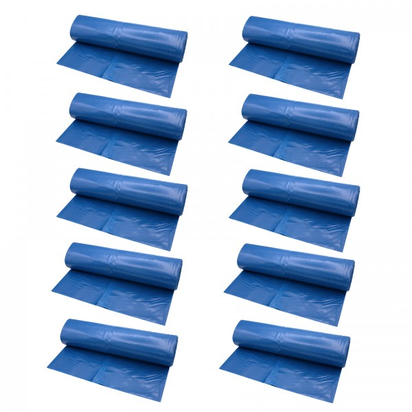 VARIOSAN Müllsäcke 12845, 120 L, 250 Stück, 45 µ, Typ 70, blau
