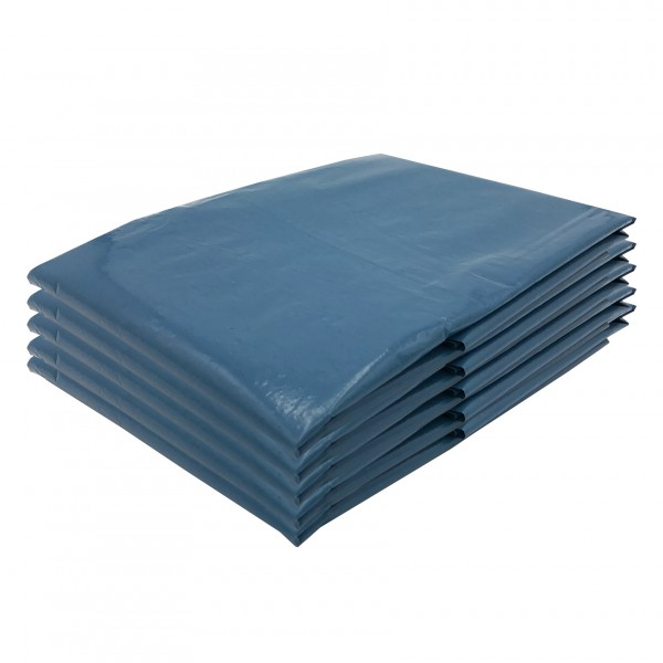 VARIOSAN Müllsäcke 11664, 240 L, extra stark, 5 Stück, 90 µ, Typ 100, blau