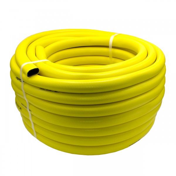 "VARIOSAN Gartenschlauch Megaflex 14412, 1/2"", 25 m, PVC, 3-lagig, 8 bar, gelb"