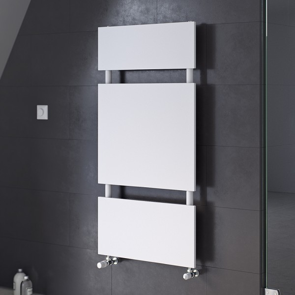 Corpotherma Badheizkörper Panio Scala, 970 x 500 mm, 520 W, weiß