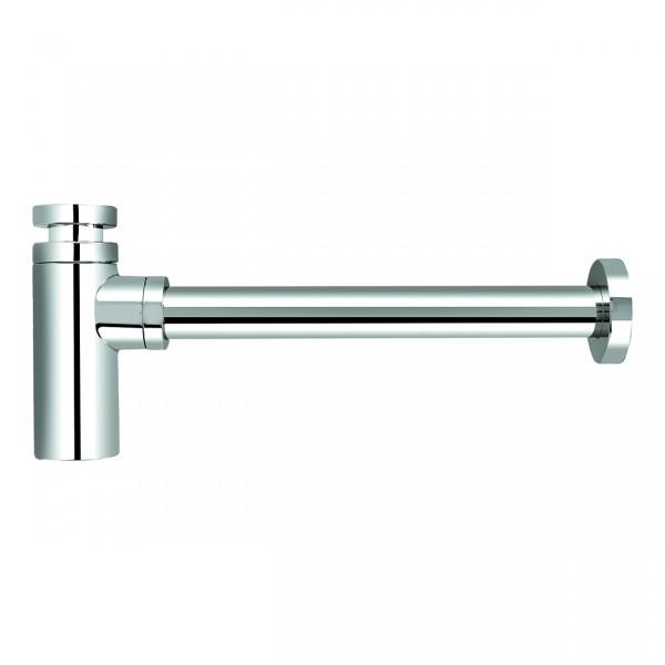 "VARIOSAN Design Siphon Geruchverschluss 12555, 1 1/4"", 32 mm, Messing, verchromt"