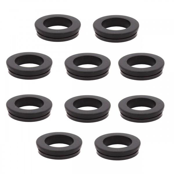 VARIOSAN Saug- und Hochdruckkupplungen Ersatzdichtung 13576, 10 Stück, Gummi, schwarz, System Geka