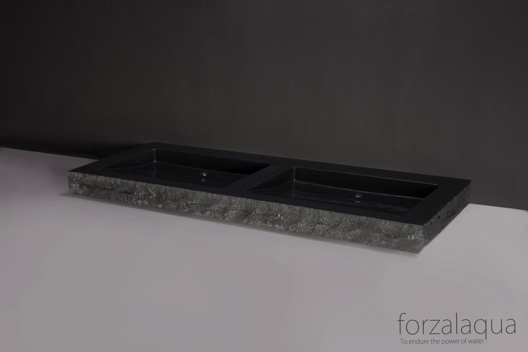 naturstein waschtisch aus basalt online kaufen haustechnik. Black Bedroom Furniture Sets. Home Design Ideas