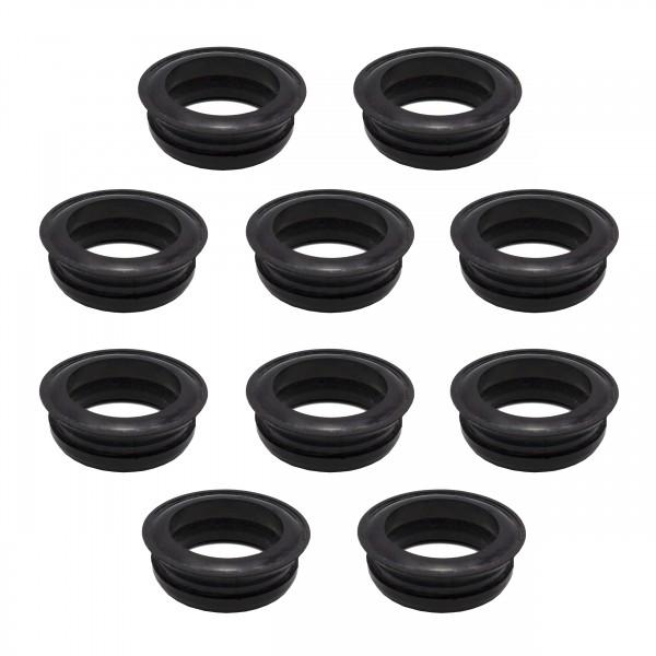 VARIOSAN Schnellkupplung Ersatzdichtung 12388, 10 Stück, universal, Gummi, schwarz, System Geka