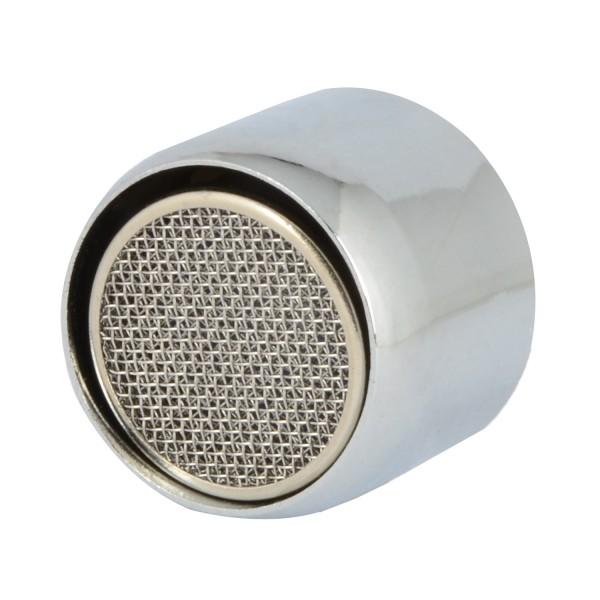 VARIOSAN Wassersparstrahlregler 10742, M22, 4 Stück, 6 l/min, verchromt